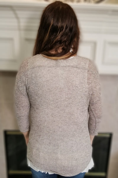 Sweater Tunic Top