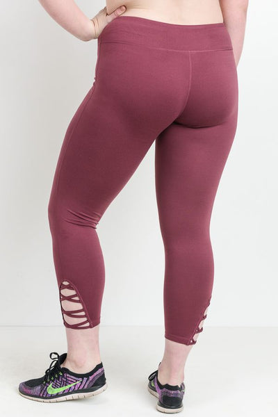 Full Length Lattice Athletic Legging