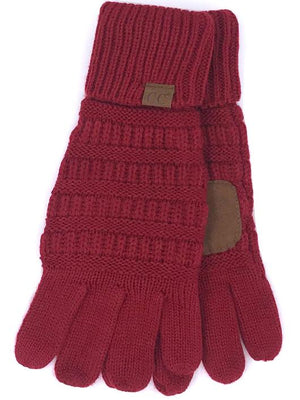 C. C. Smart Tip Gloves