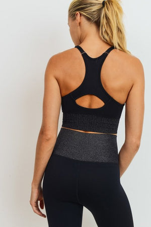 Glitter Infused Sports Bra