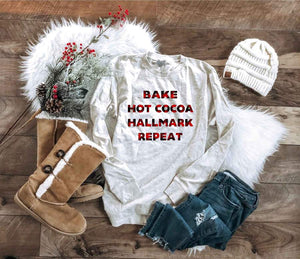 Bake, Hot Cocoa. Hallmark Repeat Collection