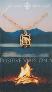 Positive Vibes Only Necklace