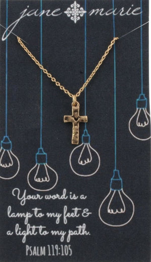 Your Word is a Lamp Necklace