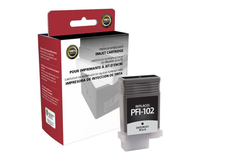 Black Ink Cartridge for Canon PFI-102