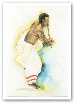 Senegalese Dancer - Limited Edition by Betty Biggs