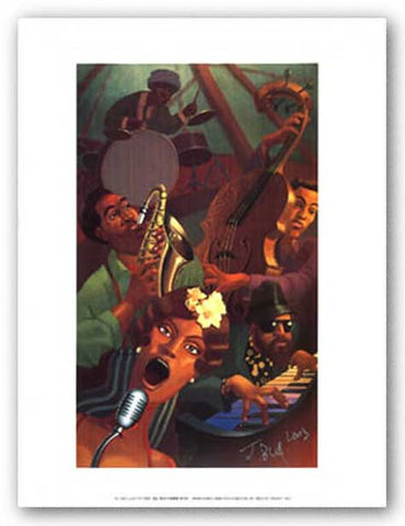 Jazz Quintet (mini) by Justin Bua
