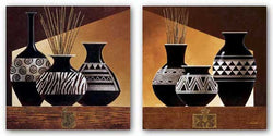 Patterns in Ebony Set by Keith Mallett