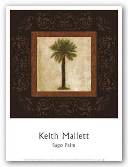 Sago Palm by Keith Mallett