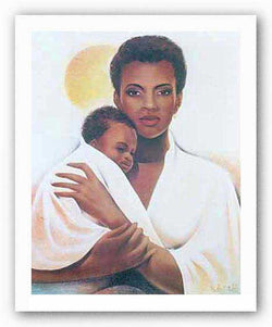 Mother and Child by Keith Mallett