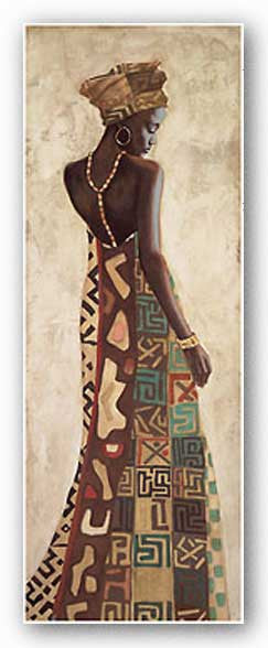 Femme Africaine III by Jacques Leconte