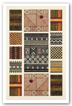 Tribal Textiles II by Owen Jones