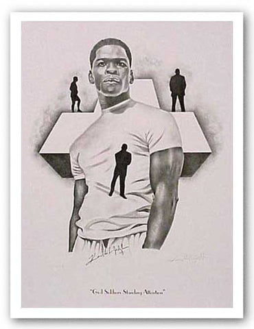 God Soldiers Standing Attention - Limited Edition by Kenneth Joslin