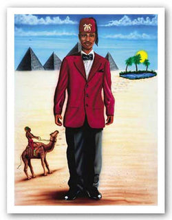 The Burning Sands - Masonic by Paul Bush
