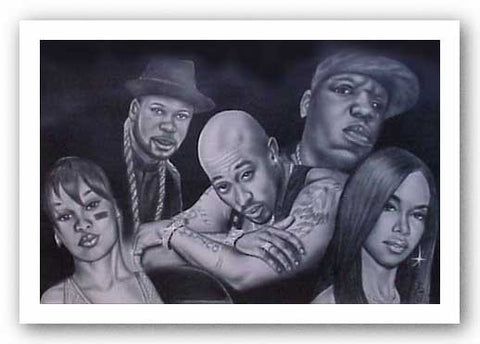 Hip Hop Legends II by Fred Mathews