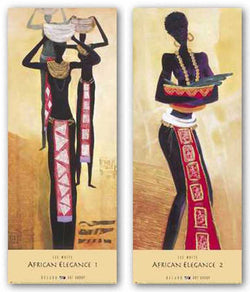 African Elegance Set by Lee White