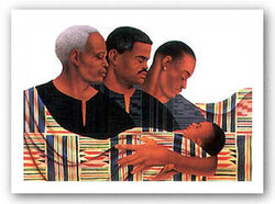 Generations II - Limited Edition by Keith Mallett