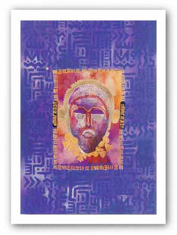 Indigo Mask I by Charles W. Grant, Jr.