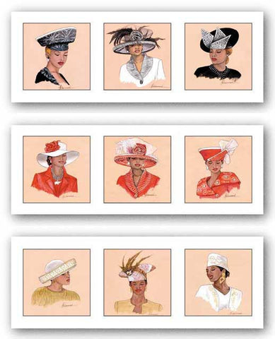 Hattitude Set by Marcella Hayes Muhammad