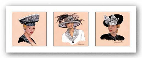 Hattitude in Black by Marcella Hayes Muhammad