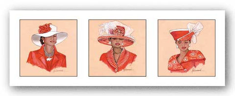 Hattitude in Red by Marcella Hayes Muhammad
