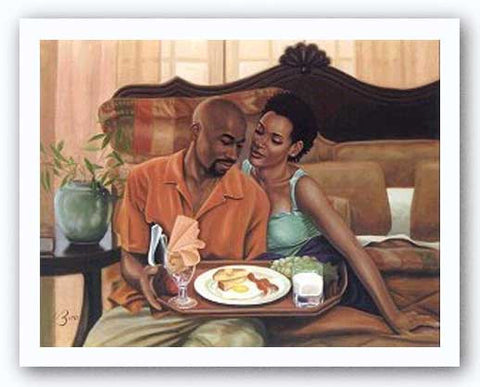 Breakfast In Bed by Henry Lee Battle