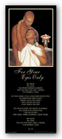 For Your Eyes Only - Man to Woman Statement - Brown by Gerald Ivey
