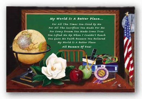 My World Is A Better Place by Herman Woodall