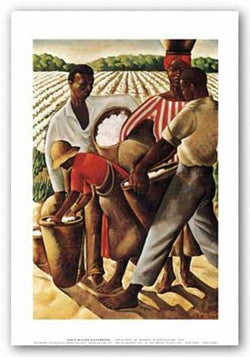 Employment of Negroes in Agriculture, 1934 (Cotton Pickers) by Earle Wilton Richardson