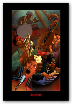 Jazz Quintet by Justin Bua