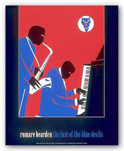 The Last Of The Blue Devils by Romare Bearden