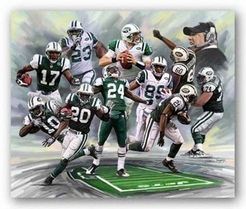 New York Jets by Wishum Gregory