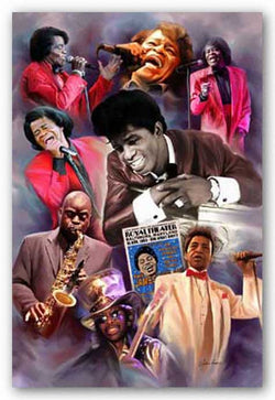 Godfather and Company (James Brown) by Wishum Gregory