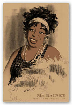 Ma Rainey by Clifford Faust