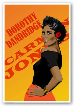 Dorothy Dandridge by Clifford Faust