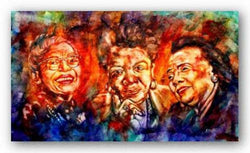 Trailblazers (Rosa Parks, Maya Angelou, Coretta Scott King) by Andrew Nichols