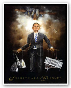 Spiritually Aligned (Barack Obama) by Edwin Lester