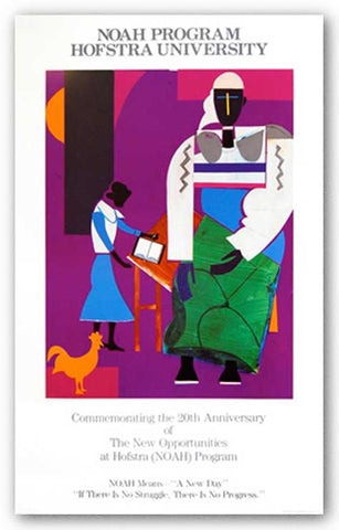 NOAH Means A New Day by Romare Bearden