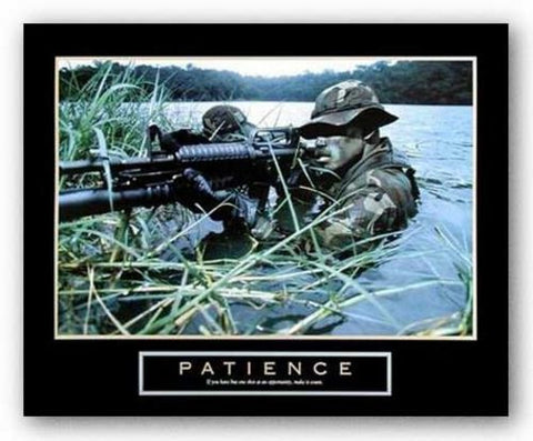 Patience - Military Man