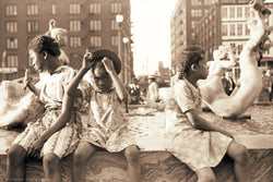 Hot Summer In the City, 1940 by John Vachon