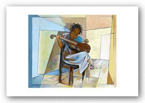 Little Musician II - Giclee by Nathaniel Barnes