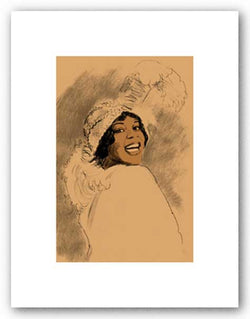 Bessie Smith - Signed Giclee by Clifford Faust