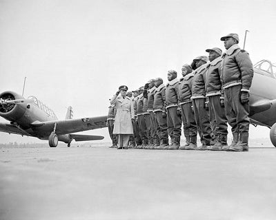 Tuskegee Airmen First Class of Cadets1941 by McMahan Photo Archive