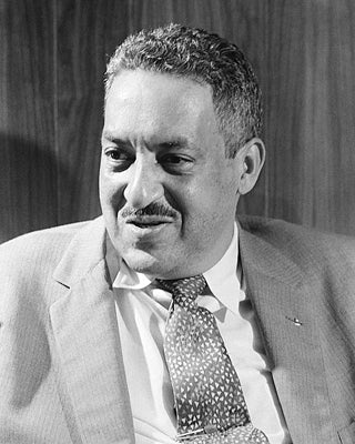 Thurgood Marshall 1957 by McMahan Photo Archive