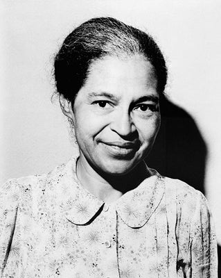 Rosa Parks 1964 by McMahan Photo Archive