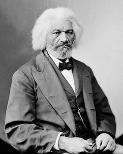 Frederick Douglass c. 1865-80 by McMahan Photo Archive
