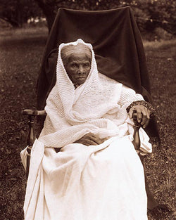 Harriet Tubman at Her Home in Auburn NY 1911 by McMahan Photo Archive