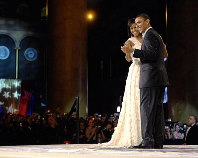 "President and First Lady Dance at the 56th Inaugural Ball Washington DC 2009 10""x8"" by McMahan Photo Archive"