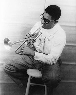 Dizzy Gillespie Portrait 1955 by McMahan Photo Archive