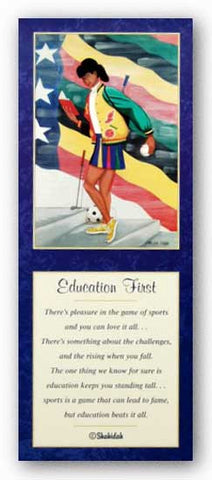 Education First (Girl) - Poem by Shahidah by Carlton Hardy