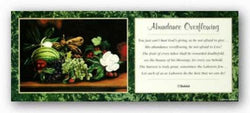 Abundance Overflowing - Poem by Shahidah by Johnny Myers